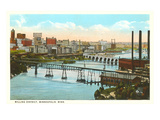 Milling District, Minneapolis, Minnesota Prints