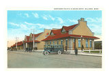 Train Station, Billings, Montana Poster