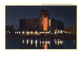 Night, Mayfair Theater, Asbury Park, New Jersey Prints