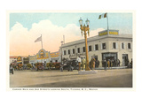Early Street Scene, Tijuana, Mexico Print