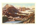 Grinnell-Gletscher, Glacier-Park, Montana Kunstdrucke
