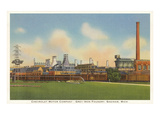 Chevrolet Factory, Foundry, Saginaw, Michigan Posters