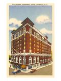 Hôtel George Vanderbilt, Asheville, Caroline du Nord Affiches