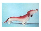 Glass Dachshund Prints