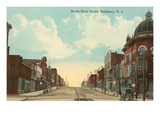 North Main Street, Salisbury, North Carolina Prints