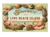 Souvenir from Long Beach Island, New Jersey Posters