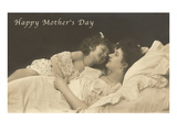 Happy Mothers Day, Mother and Daughter Prints