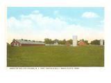 Buffalo Bill's Ranch, North Platte, Nebraska Print