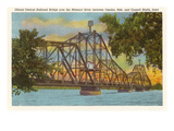 Railroad Bridge, Omaha, Nebraska Prints