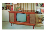 Console TV, Retro Posters