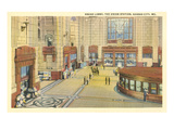 Grand Lobby, Union Station, Kansas City, Missouri Posters