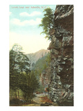 Lovers Leap, Asheville, North Carolina Posters