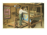 Rug Weaver, Chimayo, New Mexico Posters