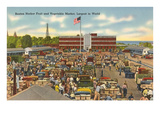 Market, Benton Harbor, Michigan Prints