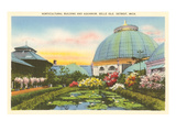 Greenhouse, Belle Isle, Detroit, Michigan Prints