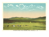 Presidential Range, White Mountains, New Hampshire Poster