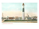 Lighthouse, Atlantic City, New Jersey Prints