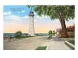 Historic Lighthouse, Biloxi, Mississippi Art
