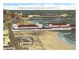 Panorama of Atlantic City, New Jersey Kunstdrucke