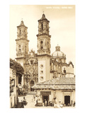 Cathedral in Taxco Prints