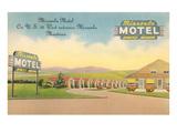 Missoula Motel, Missoula, Montana Posters