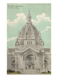 Cathedral, St. Paul, Minnesota Poster