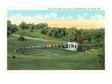 Krug Park Bowl, St. Joseph, Missouri Art