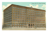 Livestock Exchange Building, Kansas City, Missouri Posters