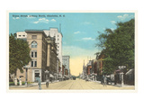 Tryon Street, Charlotte, North Carolina Posters