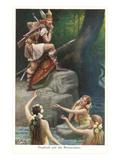 Siegfried et les ondines du Rhin Posters