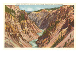 Grand Canyon, Yellowstone Park, Montana Posters