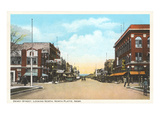 Dewey Street, North Platte, Nebraska Prints