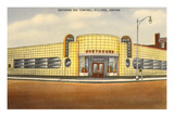 Greyhound Bus Station, Billings, Montana Reprodukcje