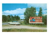 Billboard for Bemidji, Minnesota Photo