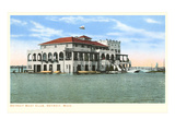 Boat Club, Detroit, Michigan Posters