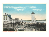 Ft. Point Lighthouse, New Castle, New Hampshire Prints