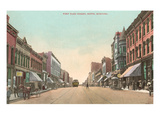 West Park Street, Butte, Montana Prints