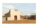 Church at Tesuque Pueblo, Santa Fe, New Mexico Prints