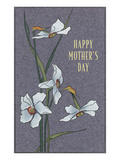 Happy Mother's Day, Delicate Flowers Prints