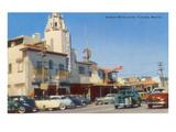 Street Scene, Tijuana, Mexico Prints