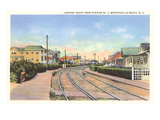Train Tracks, Wrightsville Beach, North Carolina Prints