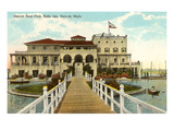 Boat Club, Belle Isle, Detroit, Michigan Prints