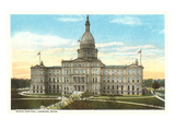 State Capitol, Lansing, Michigan Print