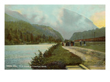 Crawford Notch, White Mountains, New Hampshire Poster