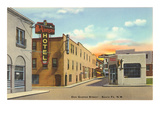 Don Gaspar Street, Santa Fe, New Mexico Prints