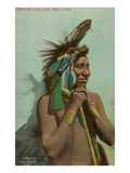Blackfoot Chief, Luke Big Turnips Prints