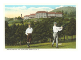 Golf near Grove Park Inn, Asheville, North Carolina Posters