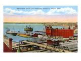 Docks, Duluth, Minnesota Posters