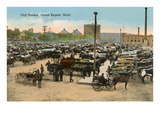 City Market, Grand Rapids, Michigan Print