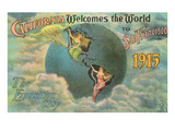 California Welcomes the World, San Francisco Posters